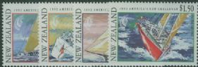 NZ SG1655-8 New Zealand Challenge for Americas Cup set of 4